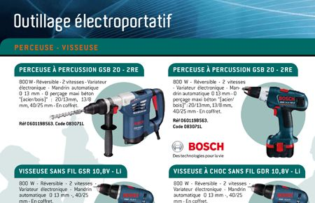 Catalogue produit Mabeo