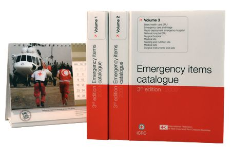 e-catalogue Emergency items Croix Rouge